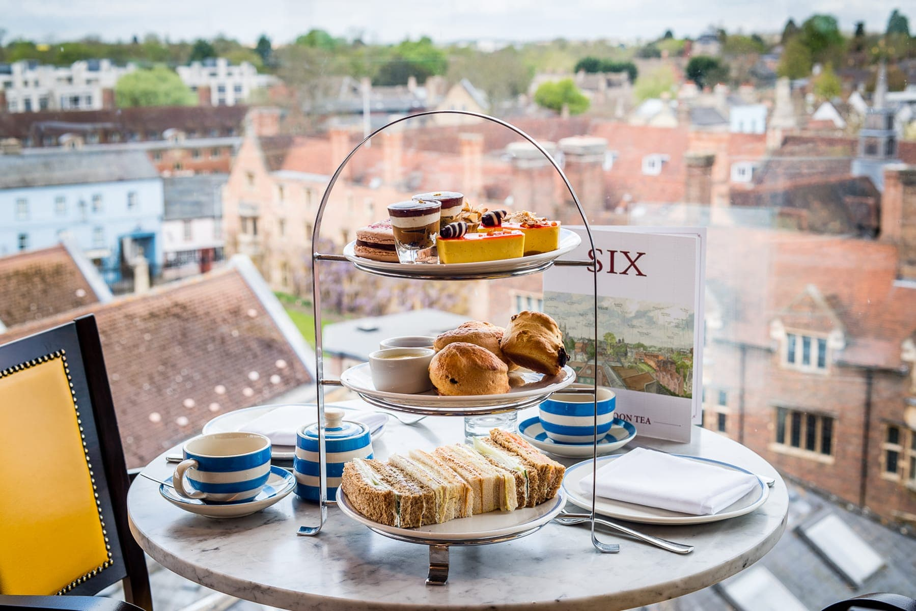 Enjoy Afternoon Tea In Cambridge With Spectacular Views