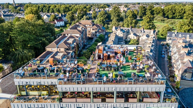 Six Brasserie Rooftop Bar Amp Restaurant Cambridge The