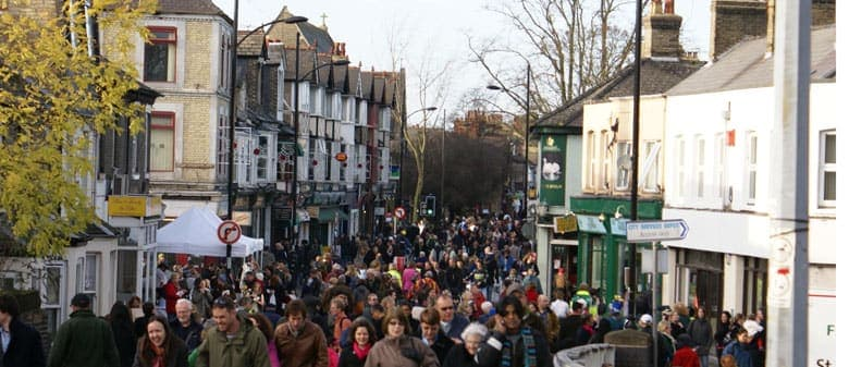 Christmas Market in Cambridge